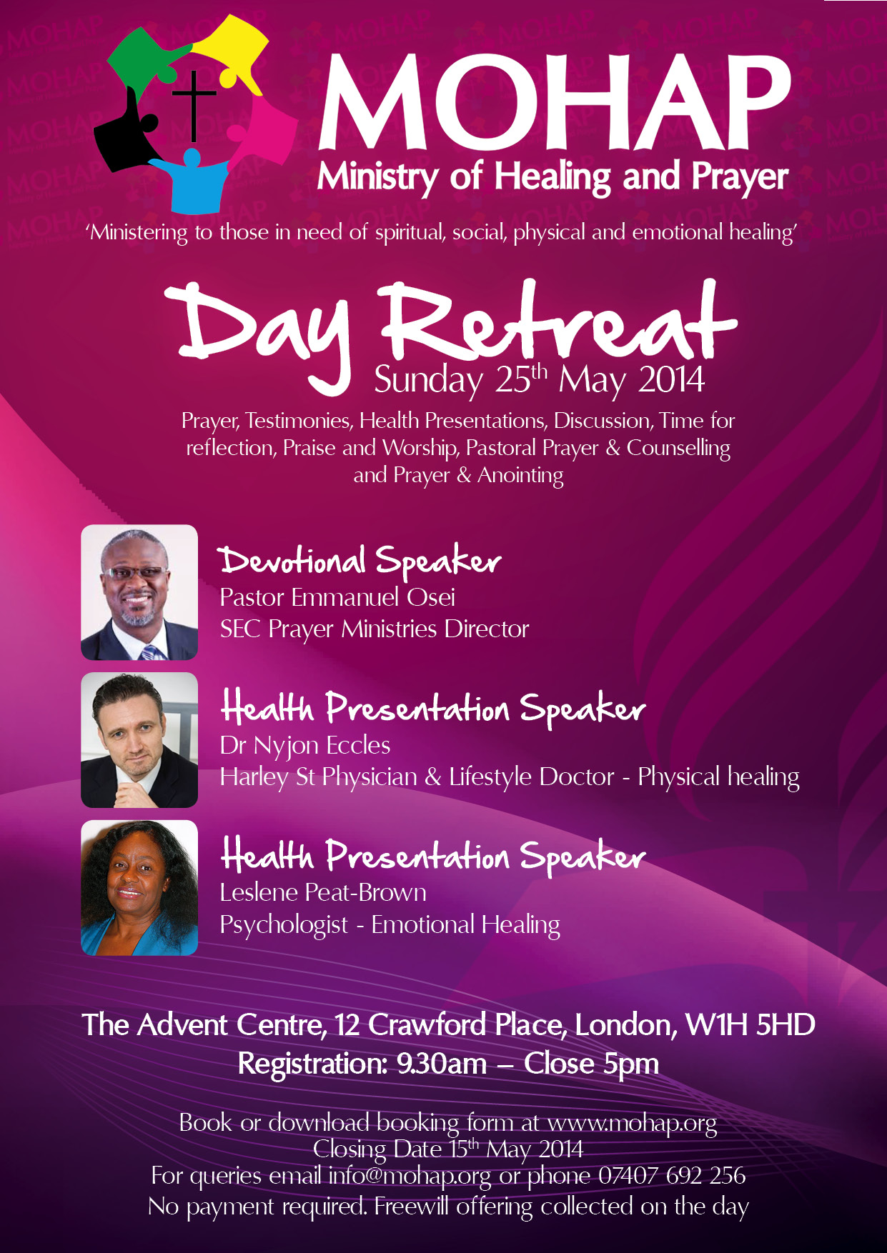 Mohap Day-Retreat May2014